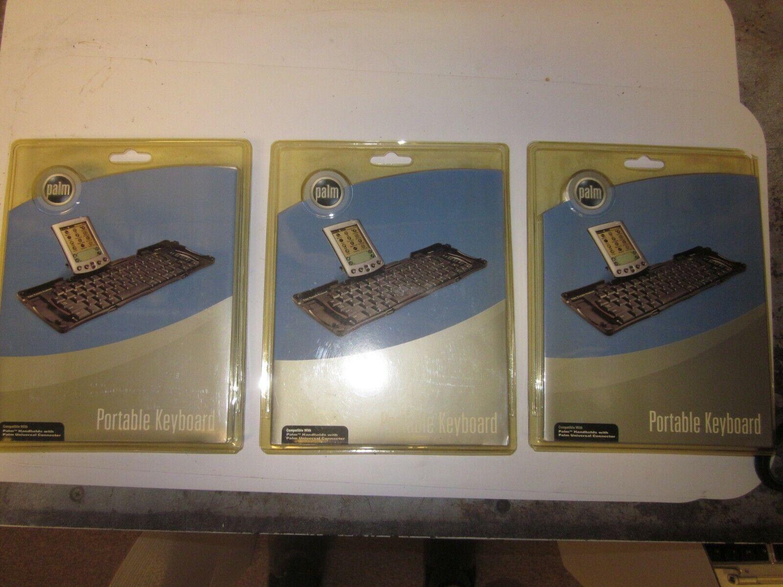 3 Original PALM Pilot Portable Foldable Keyboard, P10802U - $8.99