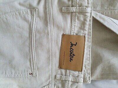 "INCOTEX CINQUE Men's Sky Slim Light grey Stretch Cotton Jeans Trousers Size 34"""