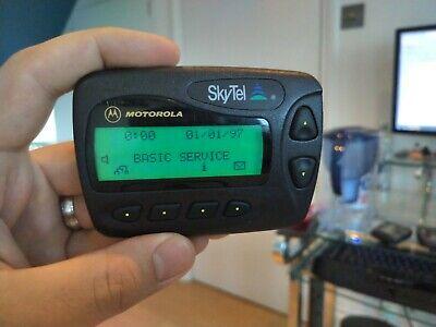 Rare Motorola SkyTel FLEX Page Finder A06ATB5806BA PageNet pager beeper