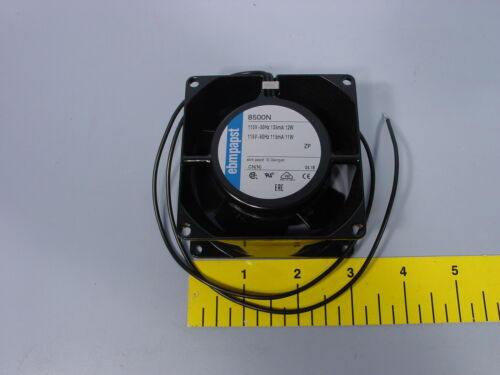 ebm-papst 8500N Axial Fan 80mm x 80mm x 38mm 3,200 RPM