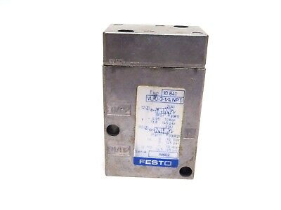 4 pieces of used Festo F-3-1//4 B pneumatic pedal
