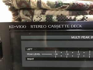 JVC KD - V100 cassette player metal tape compatible