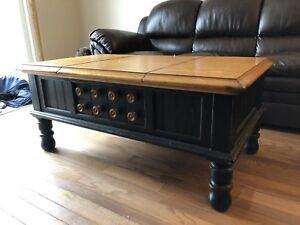 Coffee and two matching end tables