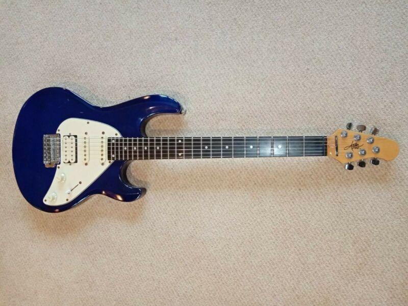 Aslin Dane Superstrat Electric Guitar Navy Blue 24 Frets