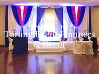 Wedding decorations for pre-wedding and wedding events