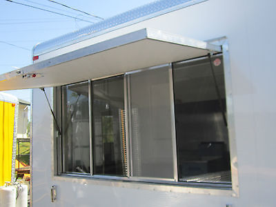 New Concession Trailer Serving Window 40 X 74  Lifetime Warranty