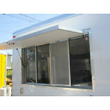 """New Concession Trailer Serving Window, 40 """" X 74 """"  TRAILER NOT INCLUDED"""