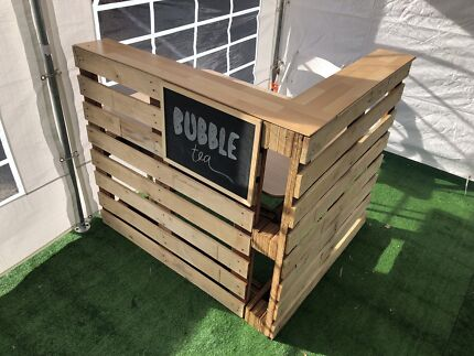 Pallet Bar And Outdoor Furniture For Hire Other Wedding