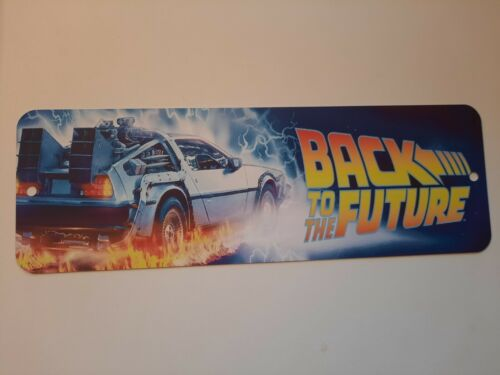 Back to the Future Banner Marquee 4x12 Metal Wall Sign