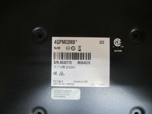 Matrox 4GPMI3M8* 4Sight GPm Industrial Computer, Intel i3, 24 VDC