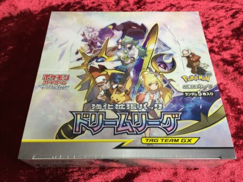 Pokemon Card Game Sun & Moon Dream League Enhanced Expansion Pack Trading Cards