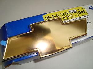 CHEVROLET BOWTIE EMBLEM GRAND BLAZER TRAILBLAZER TRACKER COMBO S-10 N300 ALERO