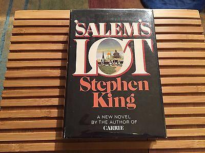 SALEM'S LOT, Stephen King (1975), Hardcover, *True 1st Edition*