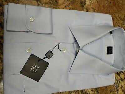 Nwt $150.00 Mens Ike Behar Dress Shirt Size 17-34