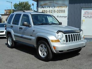 Jeep Liberty SPORT 2007 ***CUIR,TOIT OUVRANT,MAGS***