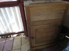 OAK ICE CHEST VINTAGE Normanville Yankalilla Area Preview