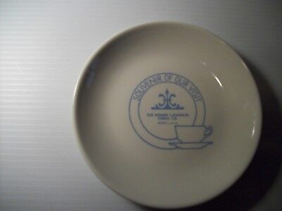 Homer Laughlin China Co Souvenir Plate Best China  5 1/2""
