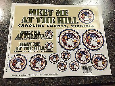 2005 Sheet of Stickers National Jamboree Mint TT3