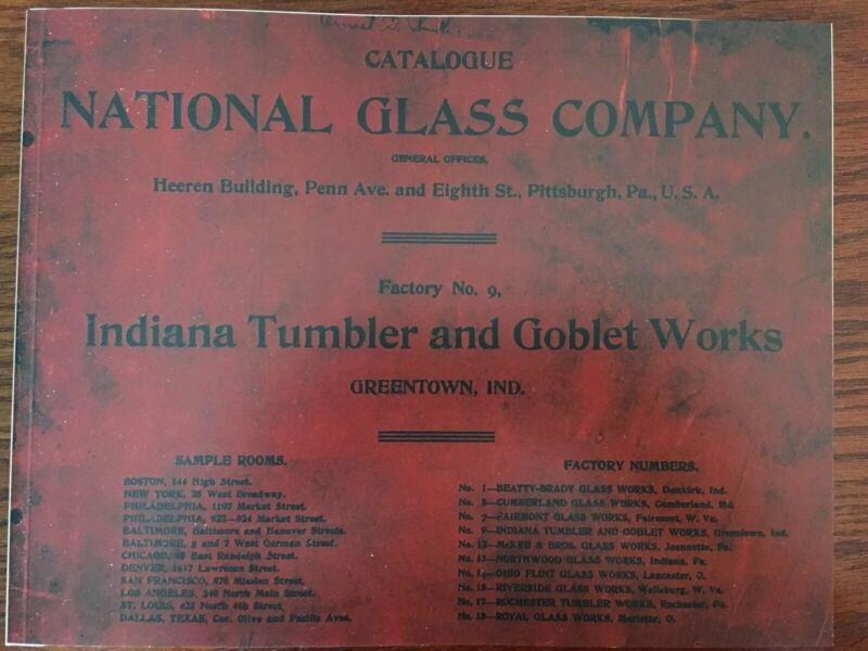 National Glass Factory No. 9, Catalog, Greentown Glass, Paperback Reprint