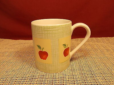 Corning Corelle Apple Harvest Pattern Stoneware Mug 3 7/8""
