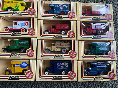 Lot 12 1983 LLEDO London England Models DAYS GONE BY Trucks Van Die Cast NEW NIP
