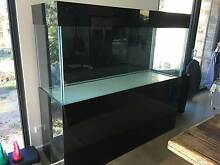 Aquarium Large with Black glass stand, hood and splash back Bridgewater Adelaide Hills Preview