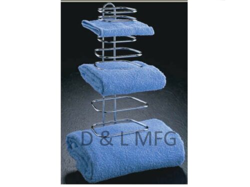 three guest towel rack for hotels or