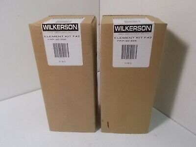 2 Nib Wilkerson Frp-95-566 Element Kits F42