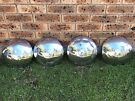 Set of 4x VW hubcaps (Dome type)
