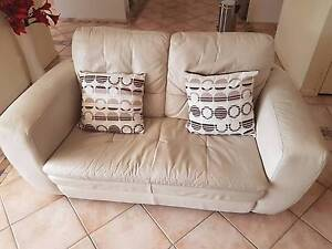 5 Seater Leather Lounge Suite (3+2 seater) Dural Hornsby Area Preview