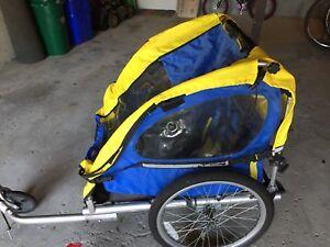 Bike trailer/jogging stroller