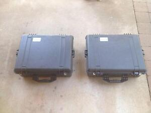 2 Pelican cases, fully waterproof with foam Alawa Darwin City Preview