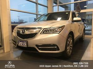 2015 Acura MDX Navigation Package NAVIGATION- ALL WHEEL DRIVE