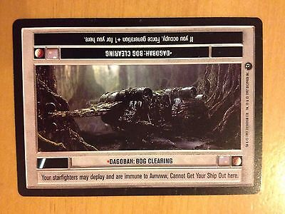 Star Wars CCG BB Premiere Limited Boring Conversation Anyway NrMint-MINT SWCCG
