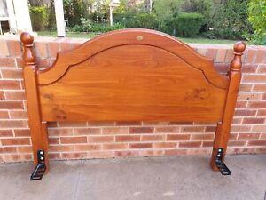 Aus pine queen size headboard. Bed head