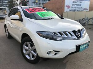 NISSAN Murano Ti 4x4 LOW KLMS LONG REGO Log books Immaculate  Granville Parramatta Area Preview