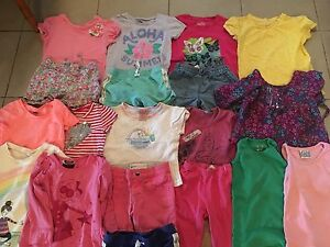 A big lot of girl's summer clothes size 5/6. AVAILABLE