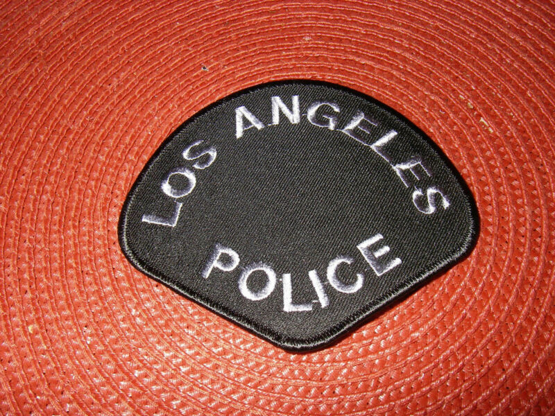 Los Angeles Department Shoulder Patch Black & Gray