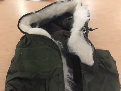 M65 HOOD FOR PARKA OR FIELD JACKET, NEW OLD STOCK, 1982, USA MADE for sale  East Hampton