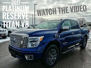 2017 Nissan Titan Platinum Reserve Fully Loaded  FREE Delivery