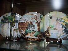 FRANKLIN MINT PLATES CATS Nudgee Beach Brisbane North East Preview