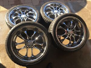MAGS 18' 5X114,3 + SUMMER TIRES 9/32 . 550$