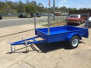 8X5 HEAVY DUTY BOX TRAILER, RACKS, MOWING, GARDENING, TRADIE, NEW Thorneside Redland Area Preview