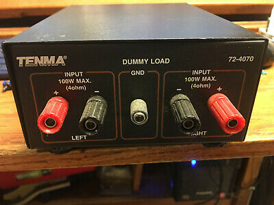 Dummy Load Stereo Test Equipment 4 Ohm