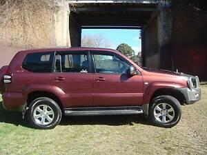 2004 Toyota prado Wagon auto ,gxl 8 seater petrol & gas swap! Lethbridge Park Blacktown Area Preview