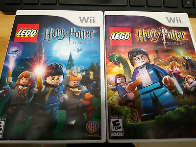 LEGO Harry Potter Years 1-4 & 5-7 Bundle Nintendo Wii Tested Complete