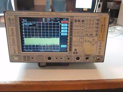 Rs Fsea30 Spectrum Analyzer 20hz-3 Ghz B4 B5 B8 B15 B16