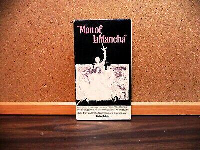 Man of La Mancha (VHS 1981) Sophia Loren, Peter O'Toole,  COLOR MAGNETIC