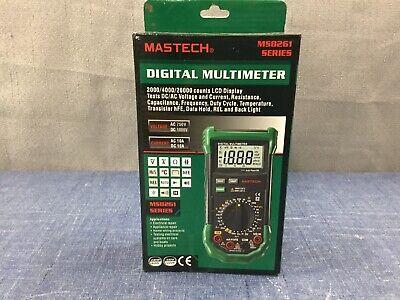 Mastech Ms8261 Digital Dmm Multimeter W Acdc Voltage Capacitance Measurement