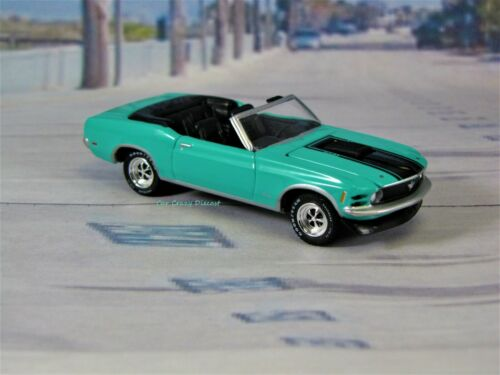 1970 70 Ford Mustang Convertible 351 Collectible Display Model Grabber Green